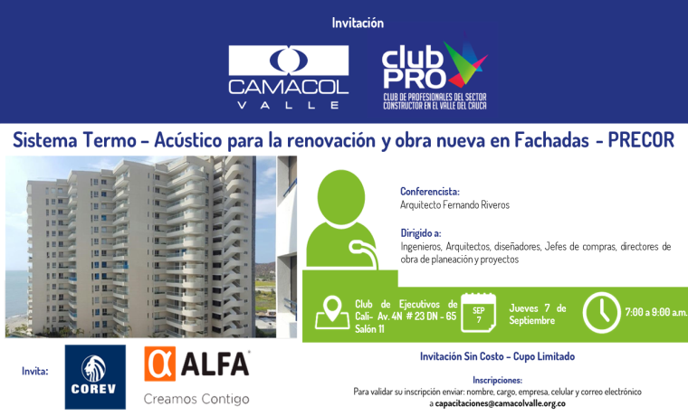 Inscripción Sin Costo Club Pro – Corev – Alfa